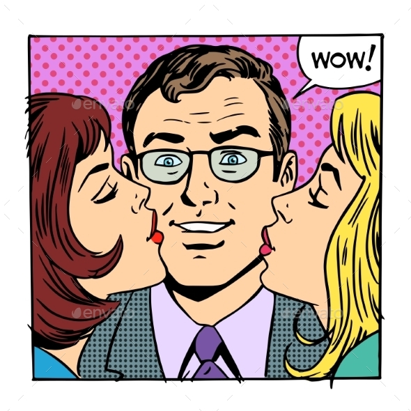 Joy Kiss - People Characters