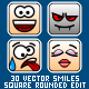 30 Square Smiles - GraphicRiver Item for Sale