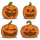 Pumpkins for Halloween - GraphicRiver Item for Sale