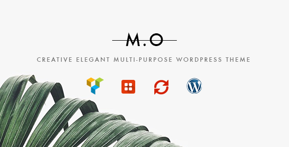 MO - Creative Multi-Purpose WordPress Theme