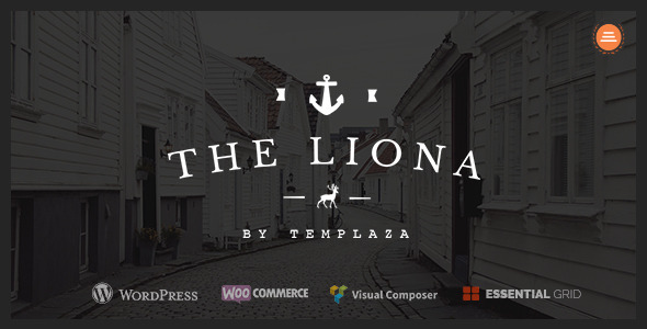 LIONA | A Portfolio Theme for Creative Site