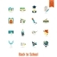 School And Education Icons - GraphicRiver Item for Sale