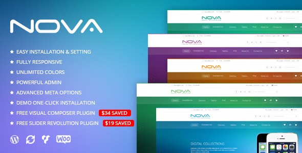 SNS Nova – Digital Store WordPress Theme
