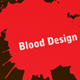 Blood Card - GraphicRiver Item for Sale