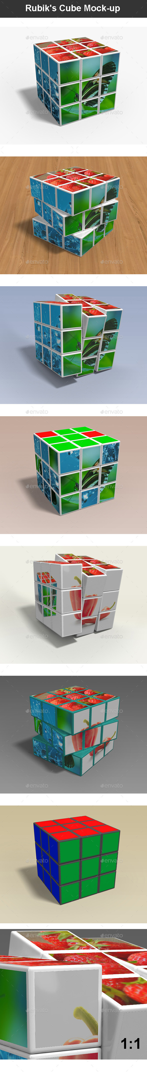Rubik's Cube Mock-up