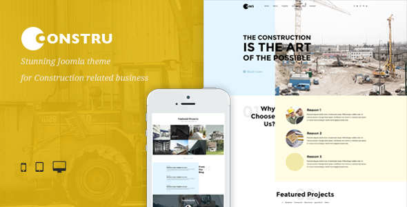Constru Construction Joomla Template