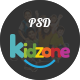 Kidzone - Primary School For Children PSD - ThemeForest Item for Sale