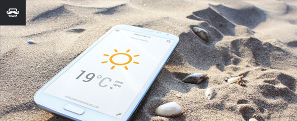 Weather Widget One - Standalone - CodeCanyon Item for Sale