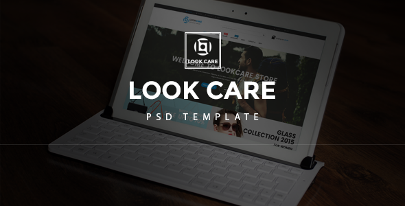 LookCare – PSD Template