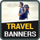 Travel Banners v10 - GraphicRiver Item for Sale