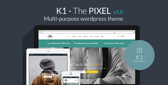 K1 – Responsive Multi-Purpose WordPress Theme