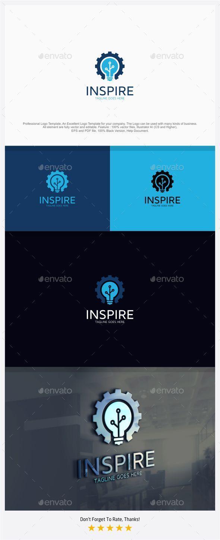 Mechanic Idea / Inspire Logo - Symbols Logo Templates