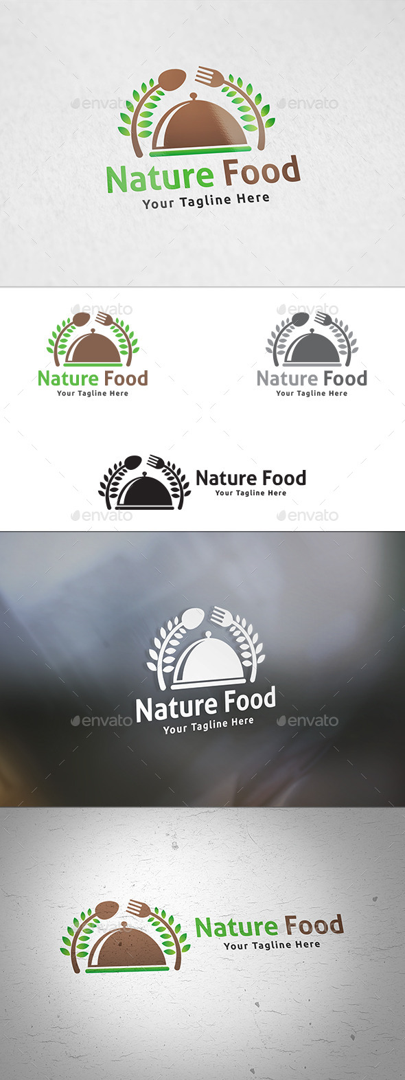 Nature Food Logo - Food Logo Templates