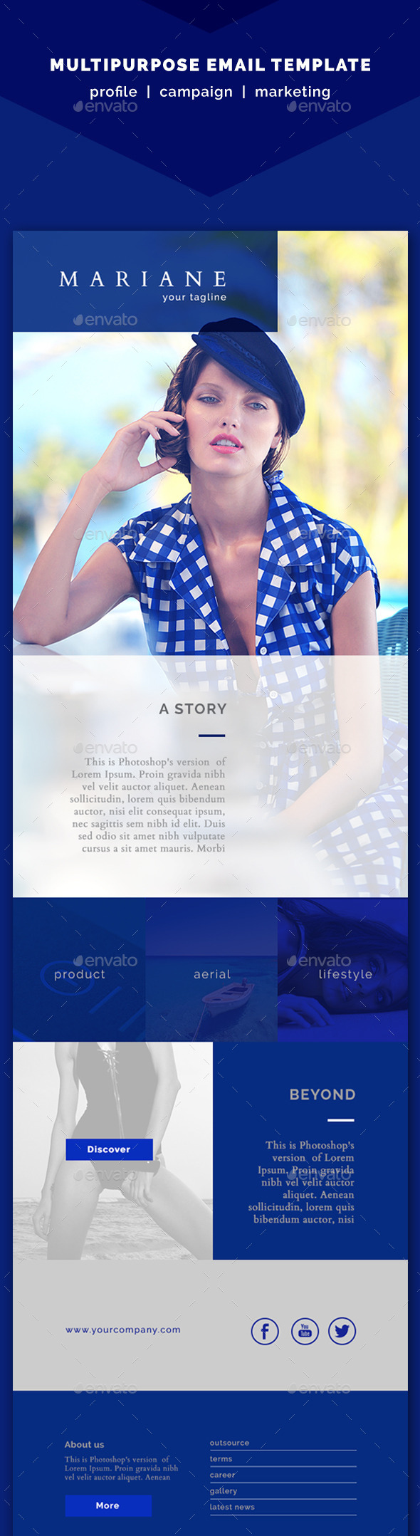Mariane Multipurpose Template