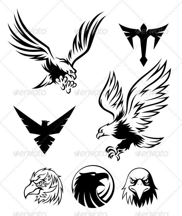 Eagle Symbol - Animals Characters