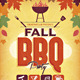 Autumn Fall BBQ Party - GraphicRiver Item for Sale