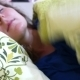 Portrait Of Beautiful Young Woman Sleeping In Bed - VideoHive Item for Sale