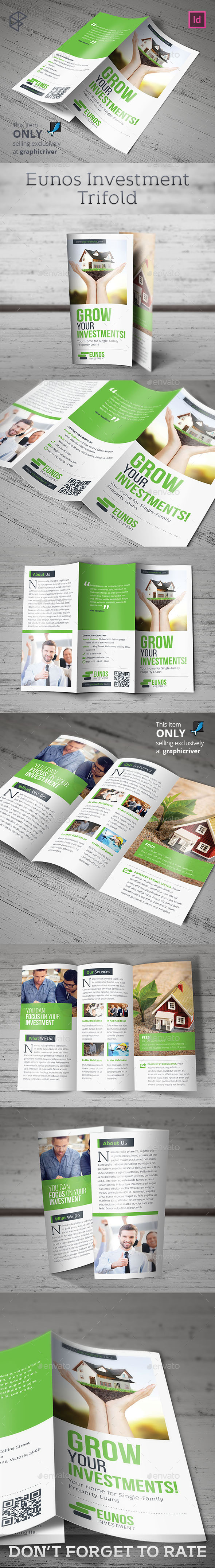 Eunos Investment Trifold - Corporate Brochures