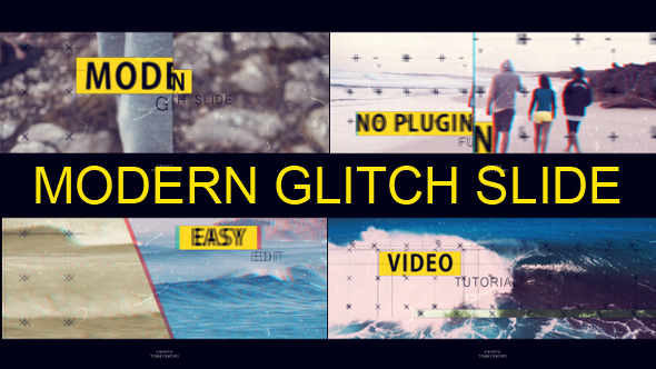 Modern Glitch Slide