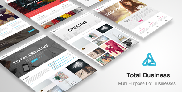 Total Business - Multi-Purpose Business WP Theme - Business Corporate