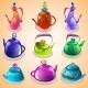 Set of Tea Kettles - GraphicRiver Item for Sale