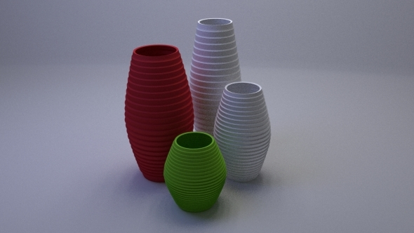 Interior Vases Pack - 3DOcean Item for Sale