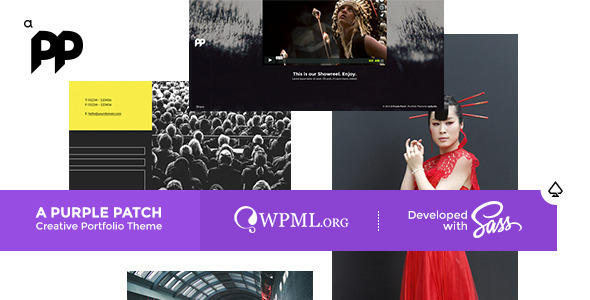 A Purple Patch – Creative Portfolio Theme