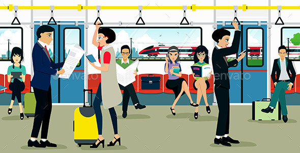 Subway - Travel Conceptual