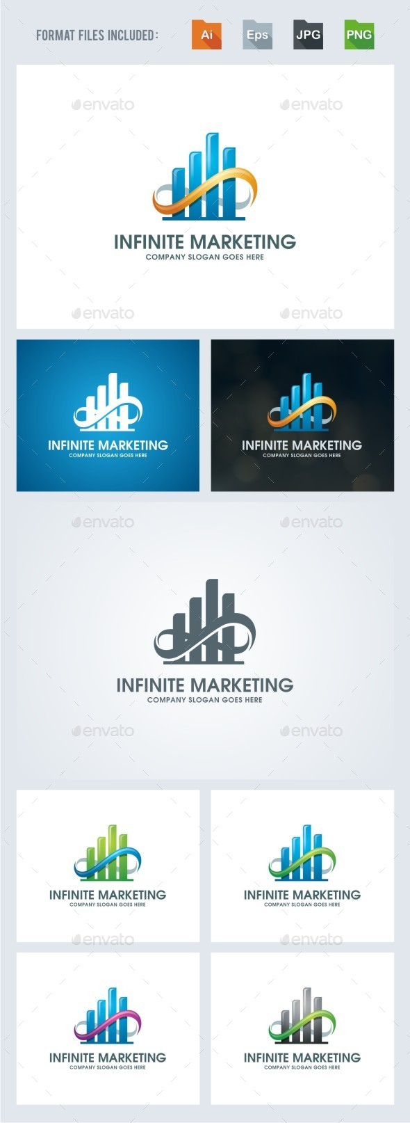 Infinite Marketing - Symbols Logo Templates