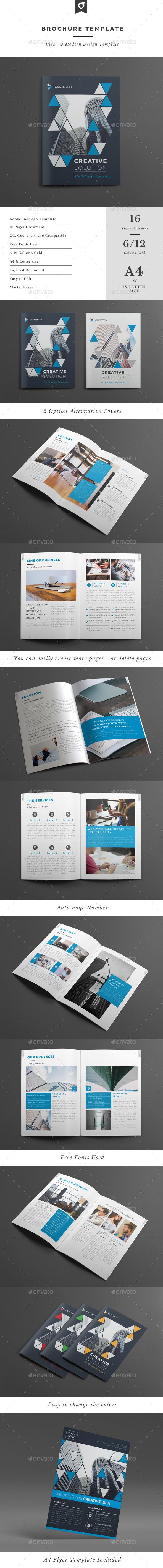 Brochure Template - Corporate Brochures