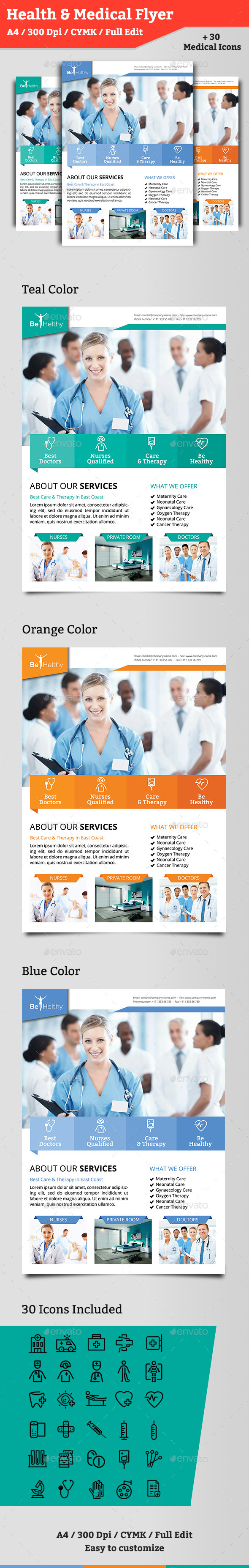 Health Flyer - Corporate Flyers