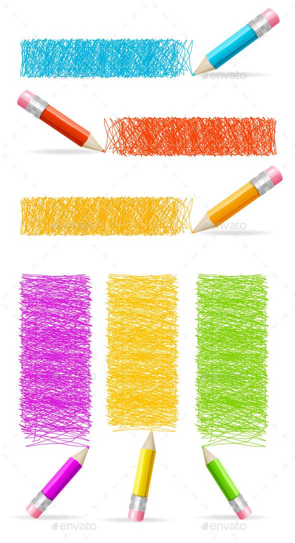 Pencil Drawing Header - Miscellaneous Conceptual