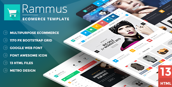 Rammus - Multipurpose HTML eCommerce Template - Shopping Retail