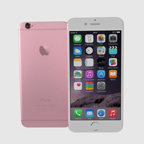 Iphone 6S Iphone 6S Plus - 3DOcean Item for Sale