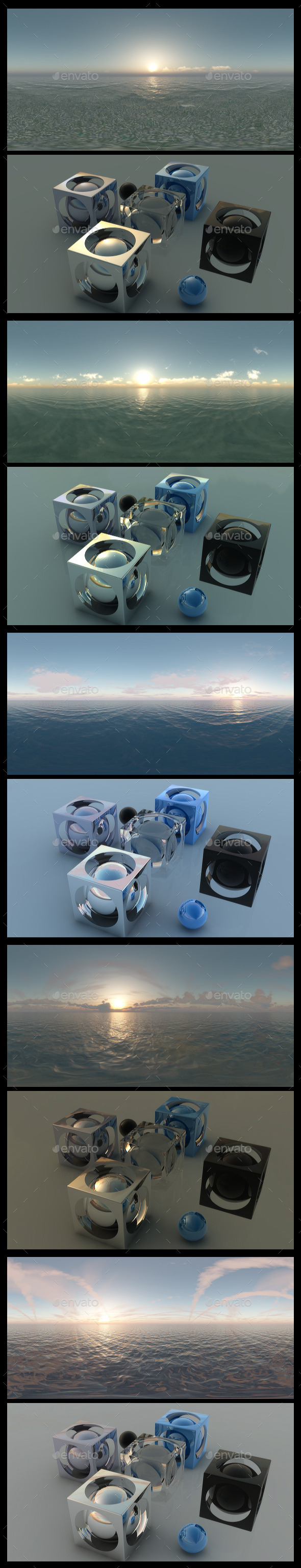 Ocean Dawn HDRI Pack