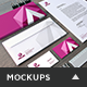 Home Office Stationery Mockups - GraphicRiver Item for Sale