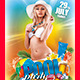 Pool Party (Flyer Template 4x6) - GraphicRiver Item for Sale