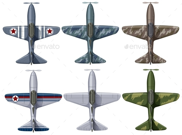 Different Design of Fighting Planes - Miscellaneous Conceptual