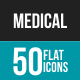 Medical Flat Multicolor Icons