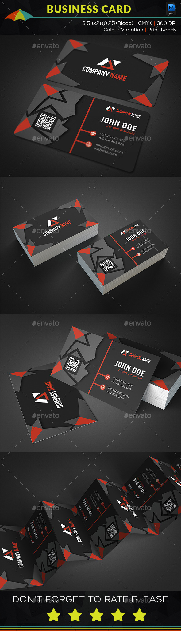 Creative Simple Business Card - Business Cards Print