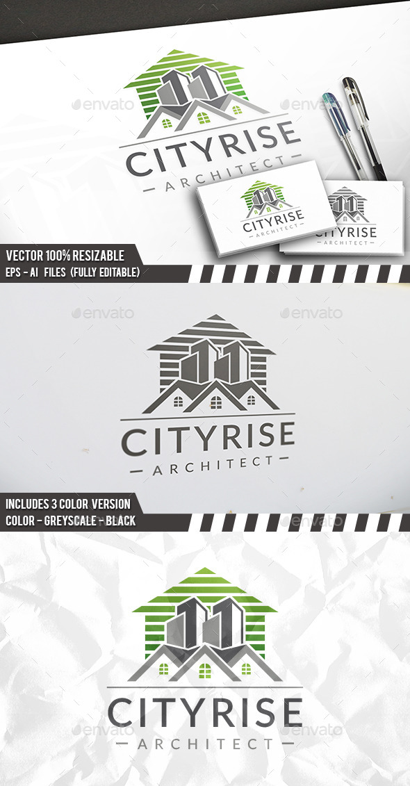 City Market Logo - Buildings Logo Templates