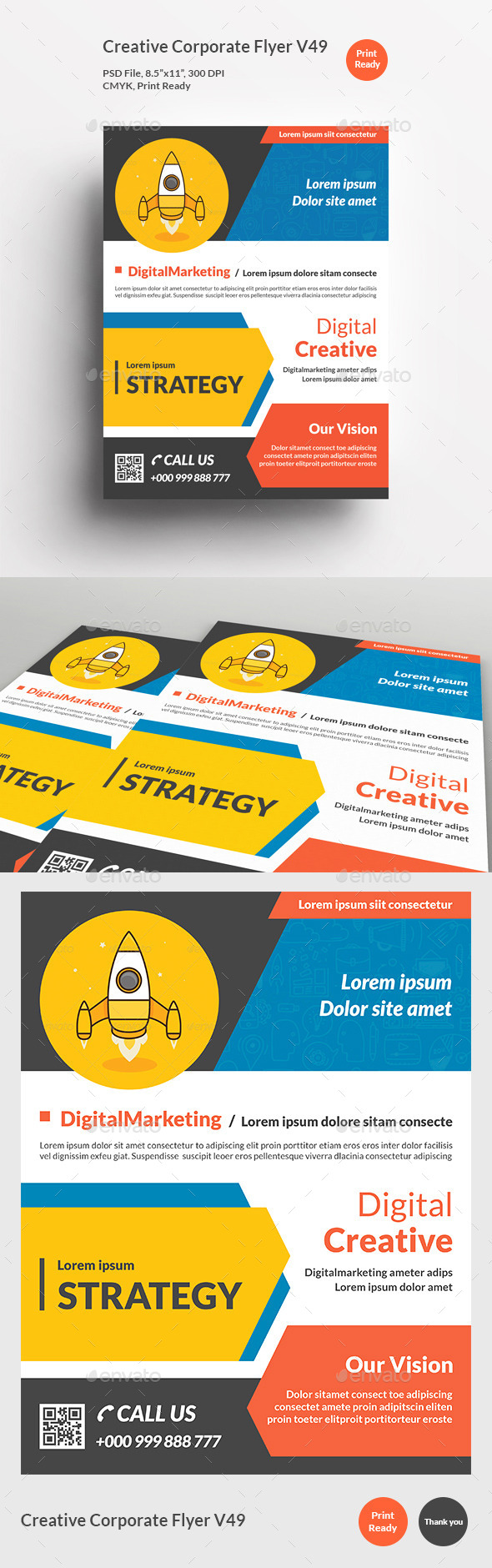Creative Corporate Flyer V49