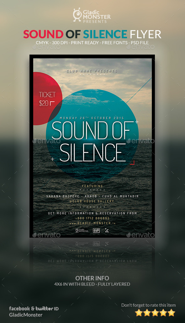 Sound of Silence Flyer