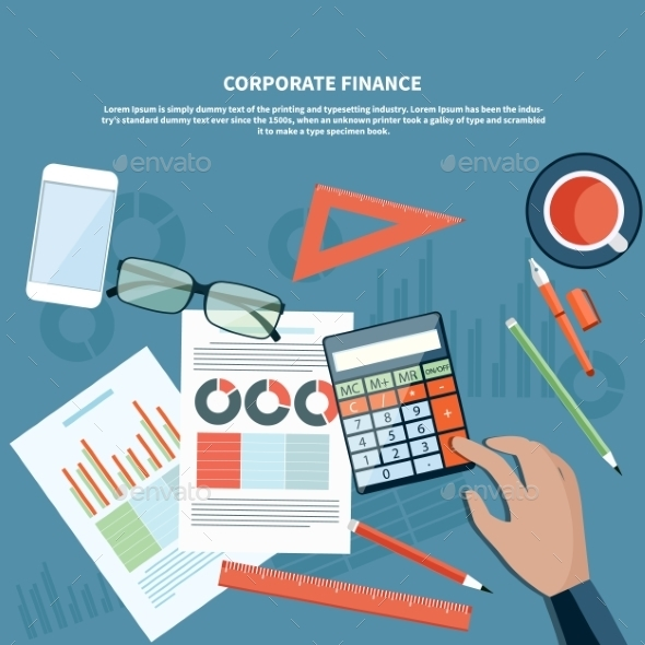 Corporate Finance Concept - Concepts Business