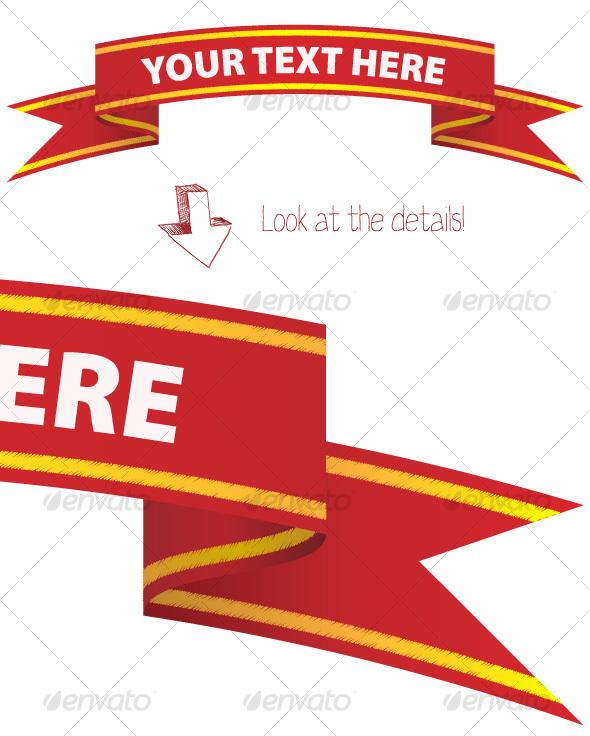 Banner - Decorative Symbols Decorative