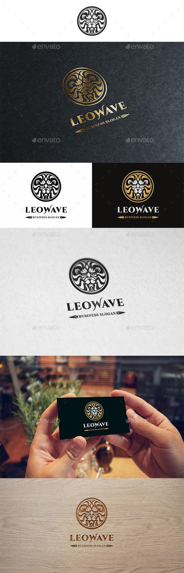 Leowave Logo - Animals Logo Templates