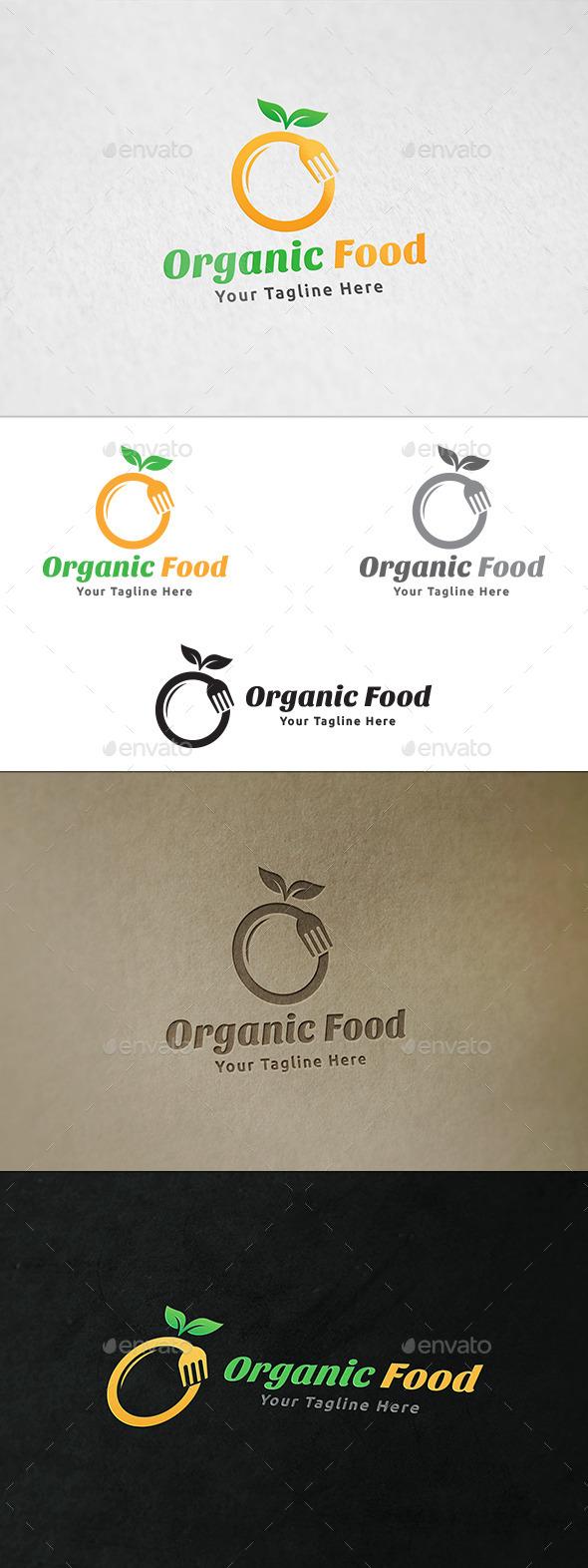 Organic Food Logo - Food Logo Templates
