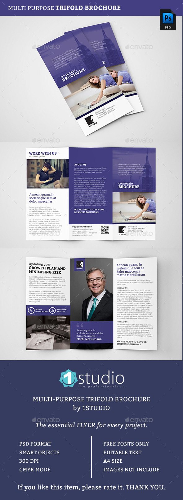 Corporate Trifold Brochure 05