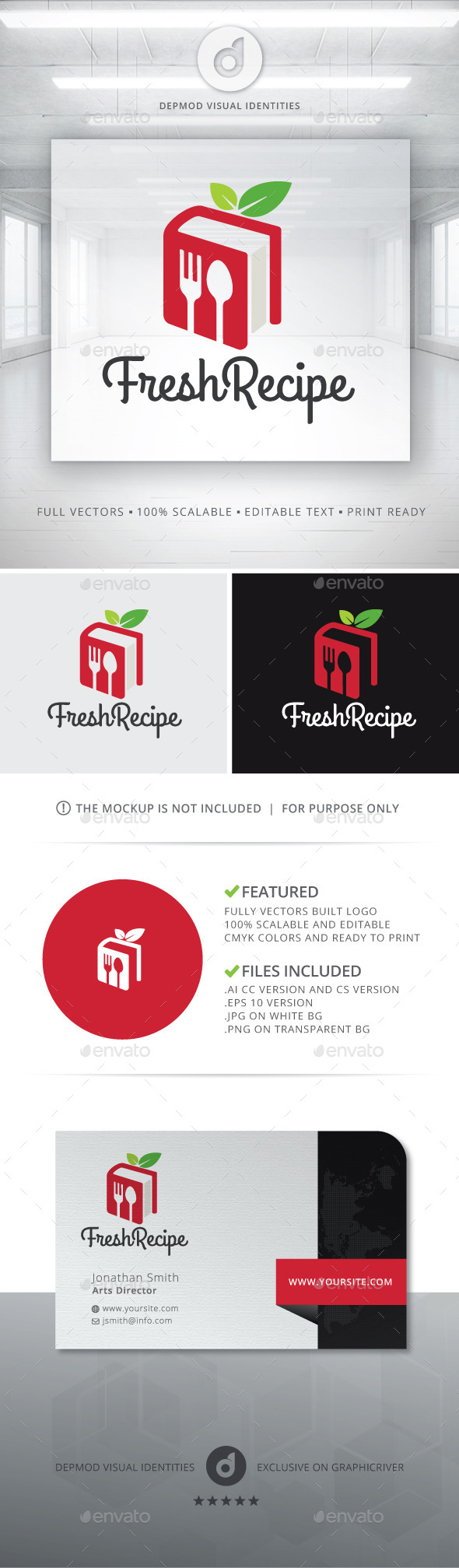 Fresh Recipe Logo