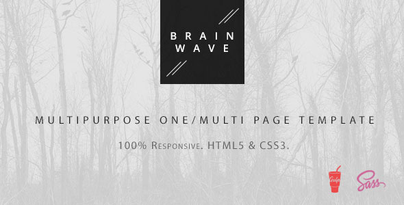 Brainwave — Multipurpose One/Multi Page Template